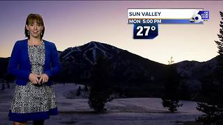 Sunny, seasonably cold Tuesday but dreaded inversion is incoming