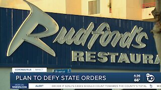 San Diego businesses ready to defy outdoor orders