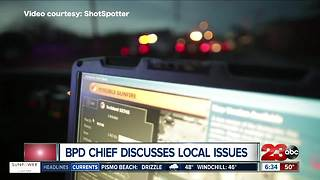 Bakersfield Police Chief Lyle Martin discusses local issues on 23ABC