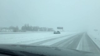 Winter storm affects travel Monday morning near Valley, Fremont - Video
