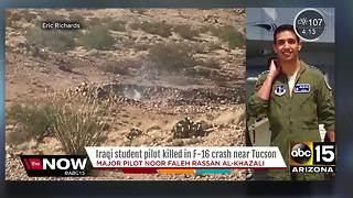Man killed in plane crash was an Iraqi student pilot - Video