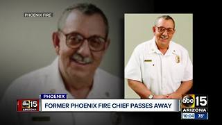 Former Phoenix Fire chief passes away - Video