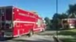 2 taken to hospital after hazmat spill at retirement home in Hunt Valley - Video
