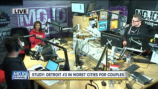 Mojo in the Morning: Detroit one of the worst cities for couples