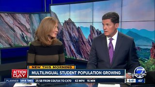 Multilingual student population growing