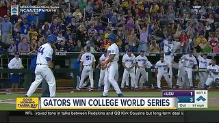 Florida beats LSU 6-1 at College World Series for 1st national championship in baseball - Video