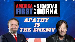 Apathy is the enemy. Kevin Sorbo with Sebastian Gorka on AMERICA First
