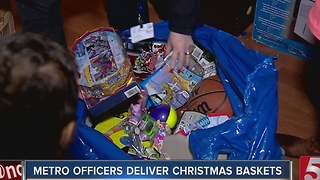 MNPD Brings Christmas Joy To Families In Need - Video