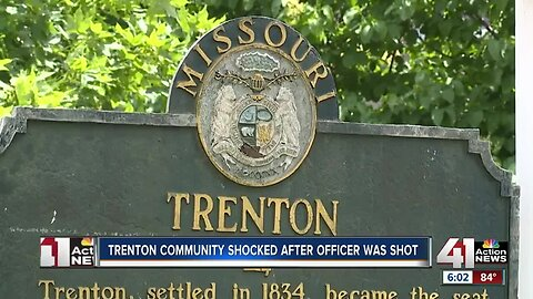 Trenton community shocked after officer was shot