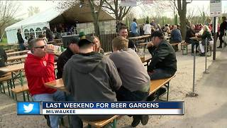 Milwaukee beer garden - Video