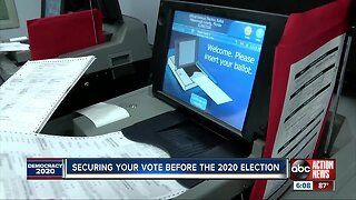 Securing your vote ahead of 2020 election