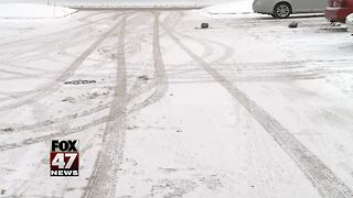 How to stay safe while driving in the snow - Video