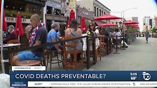 Scripps researchers: COVID deaths preventable