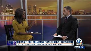 Legal Aid Society of Palm Beach County aiding the underinsured and uninsured - Video