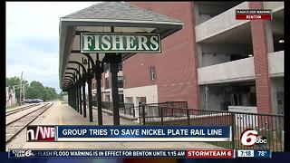 Group tries to save nickel plate rail line - Video