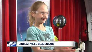 Andy Parker's Weather Machine Visits Sinclairville Elementary