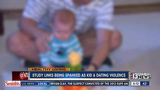 Study links spanking and dating violence - Video