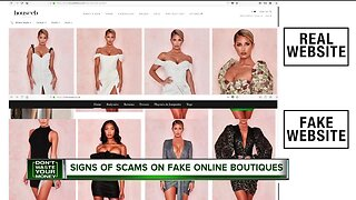 Don't Waste Your Money: Signs of scams on fake online boutiques