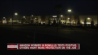 Amazon worker in Romulus tests positive for COVID-19; Other workers want more protection on the job