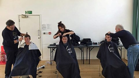 'More than just a haircut': Incredible volunteer organisation dedicate their time to boost spirits of homeless people with free haircuts, serving over 35,000 already