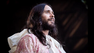 Jared Leto star-struck by Denzel Washington