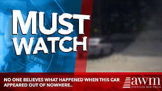 No One Believes What Happened When This Car Appeared Out Of Nowhere