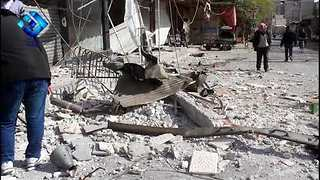Multiple Deaths Reported in East Damascus Airstrikes - Video