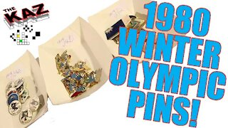1980 Winter Olympic Ronnie the Racoon Pins
