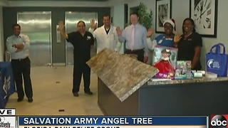 Positively Tampa Bay: Angel Tree Boost!  (part 1) - Video