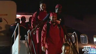 South Alabama arrives for the Nova Home Loans Arizona Bowl - Video
