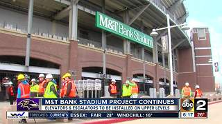 New improvements coming to M&T Bank Stadium - Video
