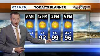 13 First Alert Weather for Aug. 16 - Video