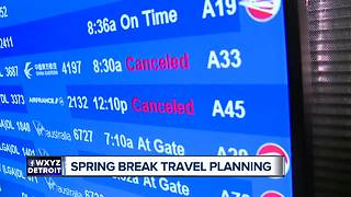 Planning for spring break travel