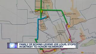 Family of Joe Louis, city leaders announce Joe Louis Greenway in Detroit - Video