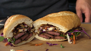 Thai Inspired Beef Short Rib Sandwich - Video