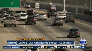 CDOT completes first test of pay-by-mile roads fee - Video