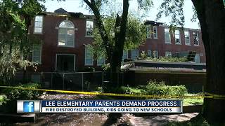 Fate of Lee Elementary, gutted by inferno, is still unknown - Video