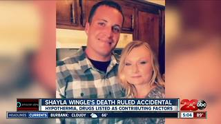Death of Shayla Wingle ruled accidental - Video