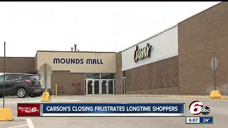 Five Carson's department stores in Indiana will be closing - Video