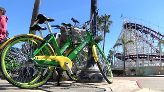 Thousands taking advantage of dockless bikes, scooters - Video