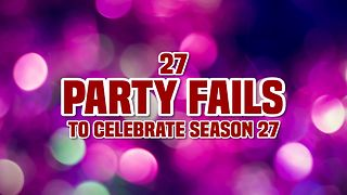 AFV's 27 Party Fails To Celebrate Season 27 - Video