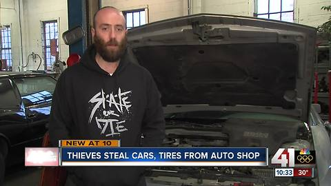 KC shopped robbed of $30k worth of items