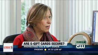Consumer Reports: Are e-gift cards secure?