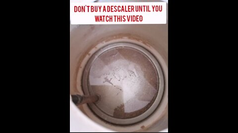 Don't buy a descaler until you watch this video