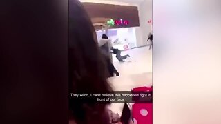 Cellphone Video Captures Mall Shooting