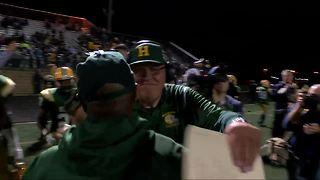 Herrington sets state record for most wins - Video