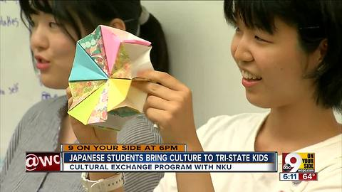 Japanese students bring culture to Tri-State kids