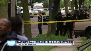 West Milwaukee Police officers won't be charged for tasing man - Video