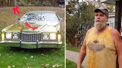 Thunderbird is go! Dad gets the chance to relive childhood with first car