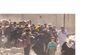 Dozens of Civilians Evacuated From Raqqa City - Video